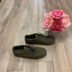 Women's Vans Sneakers- Olive